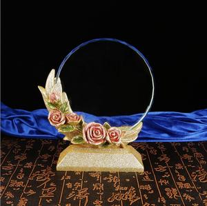 New custom 3D Engrave Blank Crystal Trophy/Award/Plaque