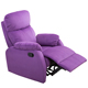 Fabric Purple Luxury French Single Corner One Seater Anji India Pakistan Kd European Style Reclining Payton Recliner Sofa Chair