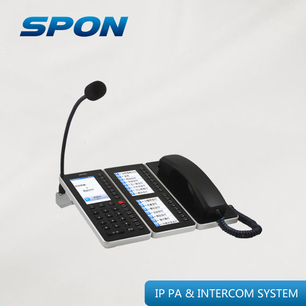 IP POE SIP TCP/IP intercom microphone