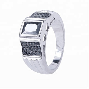 2016 wholesale china jewelry man ring in silver