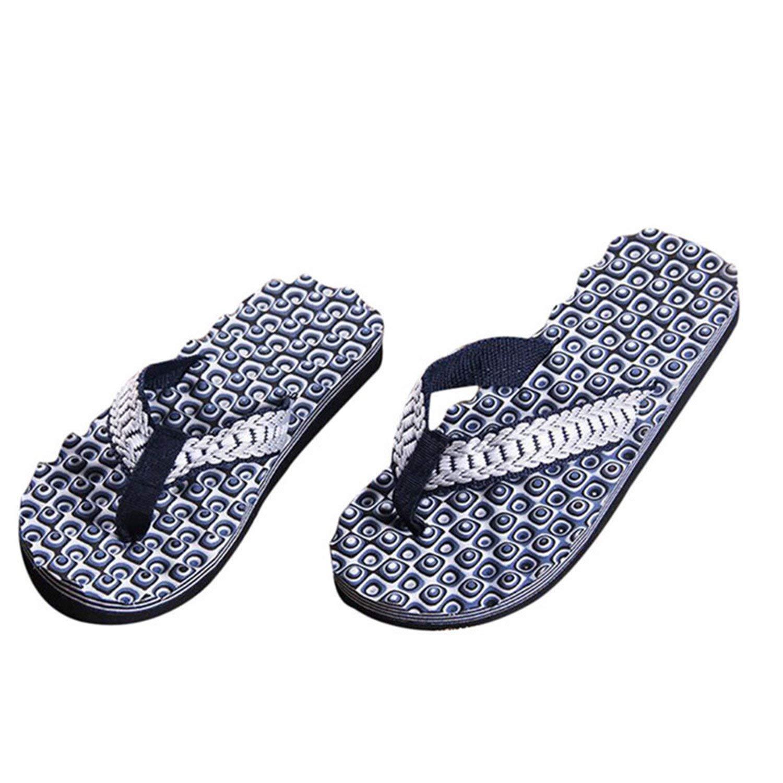 Marvin Cook Fashion Men Shoes Flip Flops Summer Casual Sandals Slipper Flip-Flops