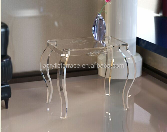 2011508102 Clear Acrylic Nightstand With Drawer Lucite