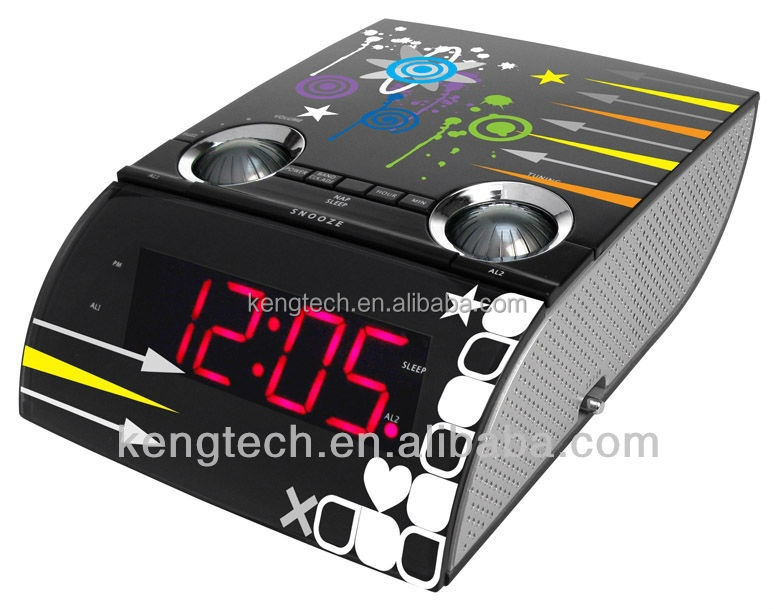 Transformando CT-3189 LED Digital Alarm Clock Radio
