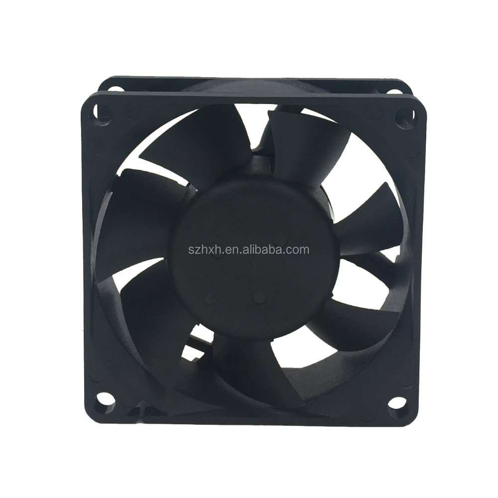 industrial DC Cooling fan 12V 18V 24V 70x70x25MM axial brushless