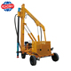 crawler mounted diesel hydraulic photovoltaic pile driver machine