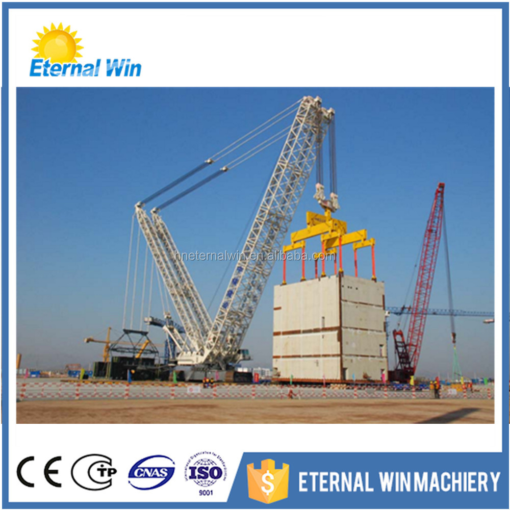 China sale 100 ton and 600 ton big capacity crawler crane for sale