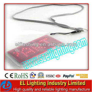 LED Named badge /LED Rechargeable badge