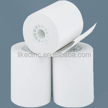 2 1/4'' Width Single ply Thermal Cash Register Receipt Till Roll Tape