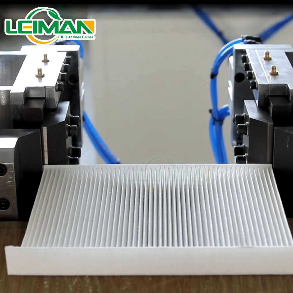 LMHX-1 PU cabin filter trimming machine