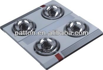 Portable bathroom ceiling heat lamp lingpiu 3in1 functions for Portable heat lamp for bathroom