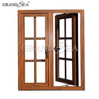 Beautiful Modern French Wrought Simple Grill Design Wood Window View Wood Window Grandsea Product Details From Foshan Grandsea Building Material Co Ltd On Alibaba Com