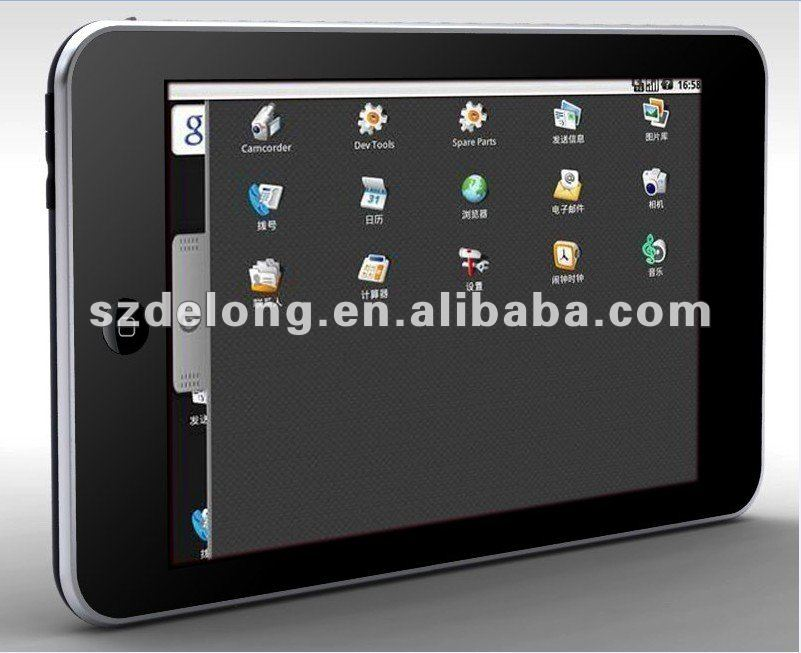 "10.1""3G mini touch screen tablet pc with wifi Intel Atom N455 ,1.6GHz"