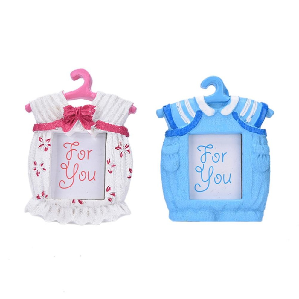 2017 new Baby Boy girl Shower Christening Favors Gifts Baby clothes Onesies Picture Photo Frame