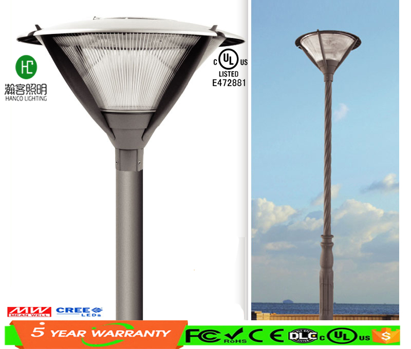 High lumen CE approved IP65 waterproof LED cast aluminum garden lamp