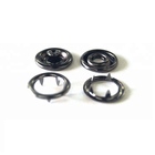 Custom 4 Parts Metal Prong Ring Snap Button Wholesale Low Price Ring Snap
