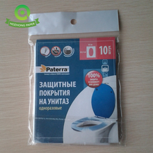 Travel Pack Wegwerp Sanitair Papier Toilet Seat Cover