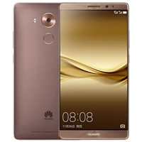 Free sample Huawei Mate 8 4GB+64GB Mocha Gold Fingerprint Identification, 6.0 inch EMUI 4.0 4G cell phone mobile phone