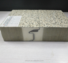 simulated granite surface rock wool sandwich panel use for building outdoor
