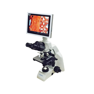 LCD Screen USB Digital Biological Polarizing Microscope With Promotion Price