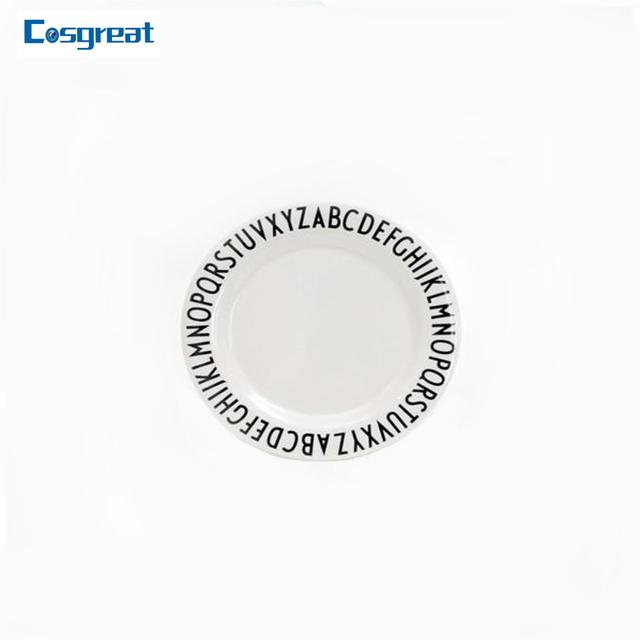Ecofriendly non-toxic grey rim melamine plate  sc 1 st  Alibaba & China Melamine Rim Plate Wholesale ?? - Alibaba
