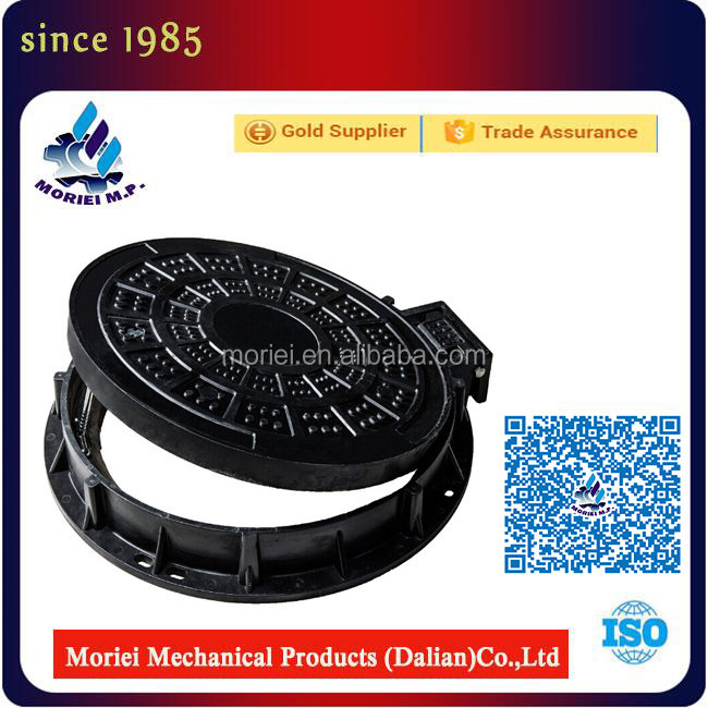 China Factory Sale en124 c250 polymer concrete manhole cover cast