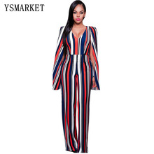 Europese station hot model rompertjes <span class=keywords><strong>vrouwen</strong></span> jumpsuit gestreepte herfst romper <span class=keywords><strong>mode</strong></span> club bodysuit <span class=keywords><strong>vrouwen</strong></span> <span class=keywords><strong>overalls</strong></span> E7371