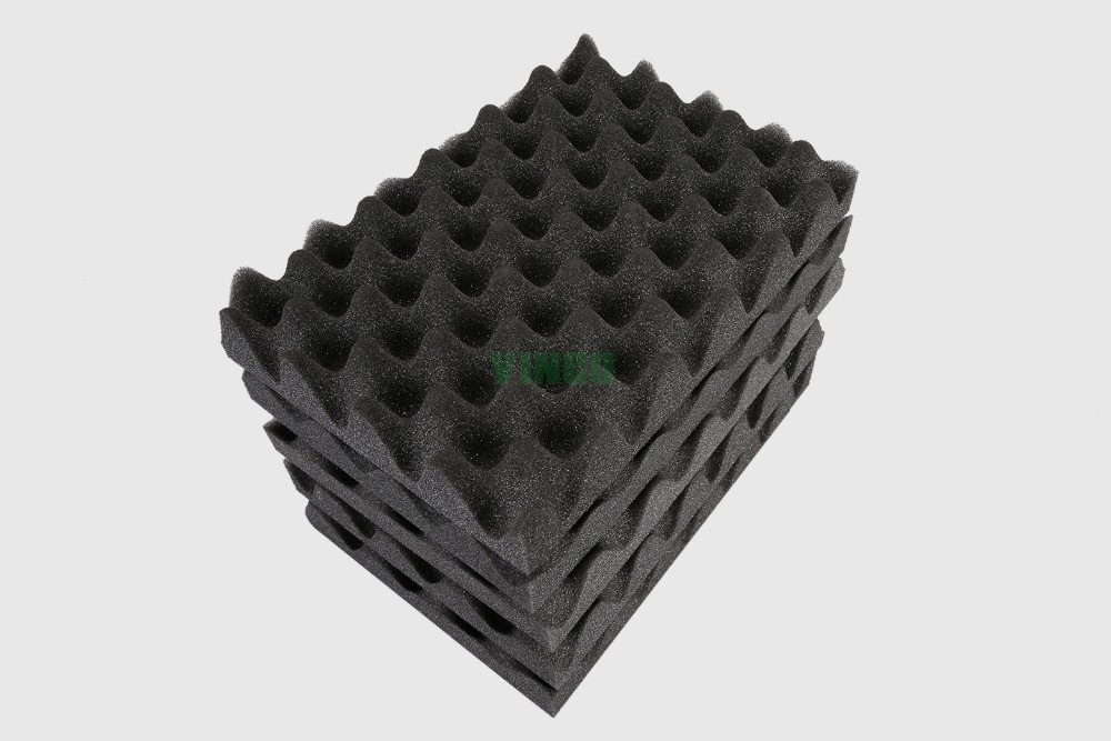 Convoluted Acoustic Foam Panel Is Make From Egg Crate Foam