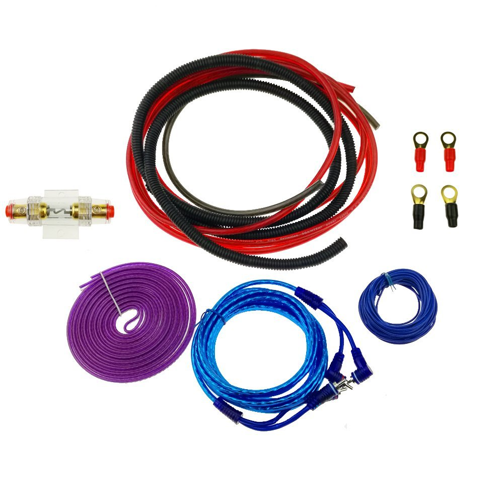 Lightning Audio By Rockford Fosgate 4 Gauge Ga Awg Amplifier Amp Installation Power Wiring Kit Ofc Ebay Kumeed 6ga Complete Install 1200w