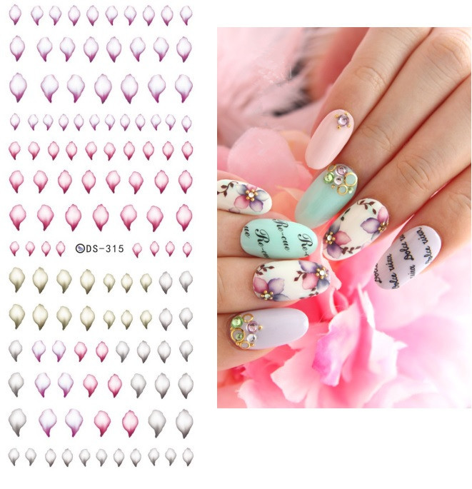 Health & Beauty Halloween Glitter 3d Nail Stickers