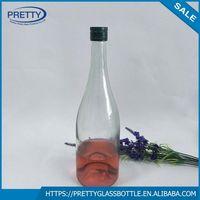 750ml Cheap Glass Wine/liquor/champaign Bottle Price
