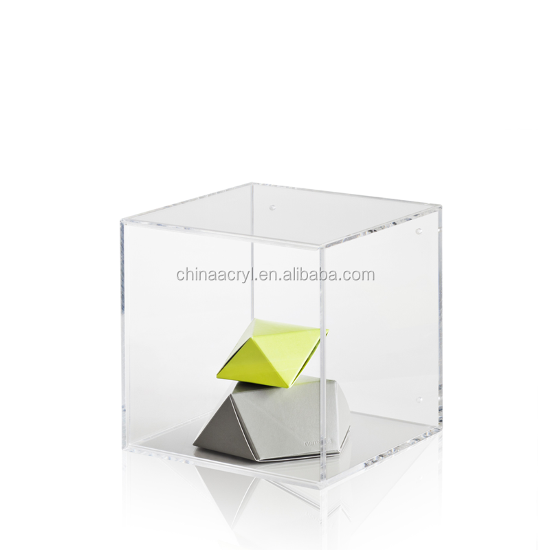 Large Storage Boxes Clear Acrylic Cube Display Boxes Wholesale