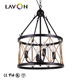 2018 guangzhou vintage e14 indian small light fixtures black gold chandelier lamp