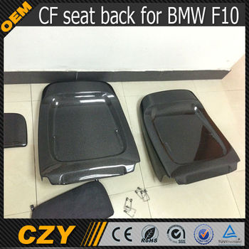 Carbon Fiber Car Racing Seat Back Covers For Bmw F10 Buy Car Seat Covers Carbon Car Seat