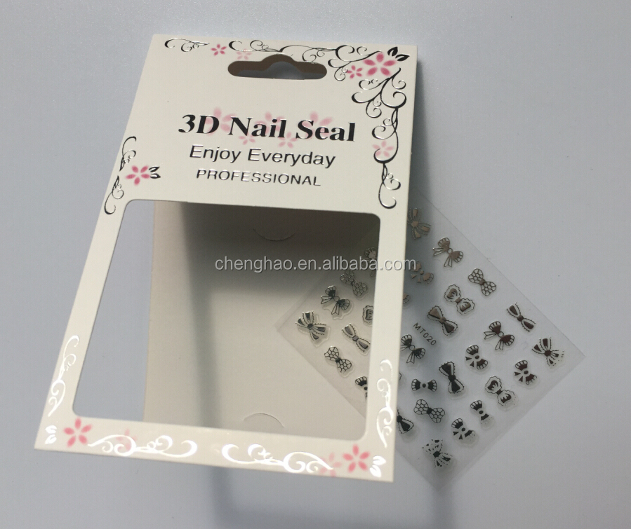 fashion decorative nail sticker maker