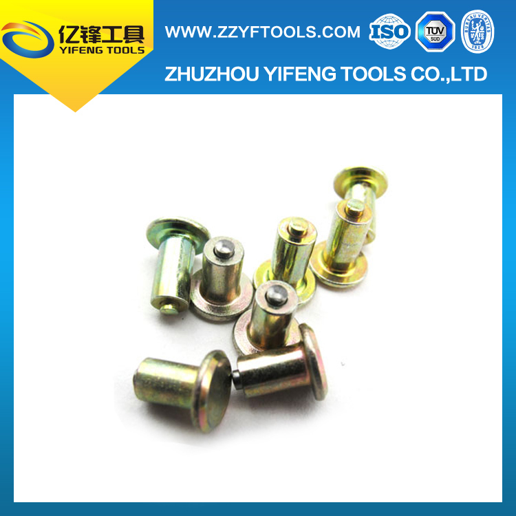Manufacturer Carbide screw ice antiskid spiral tire studs for shoes / bike / car / truck / motorcycle