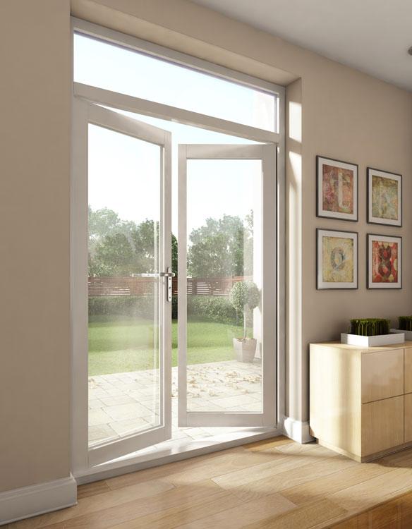 Aluminio enmarcado puertas de entrada de cristal puertas - Puerta balconera aluminio ...