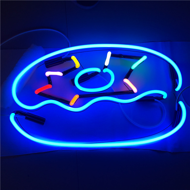 Newest indoor decoration neon sign illuminated advertising signs hair salon led