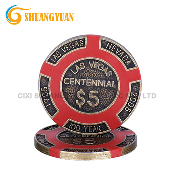 16g Las Vegas Centennial Metallo Casino Poker Chip