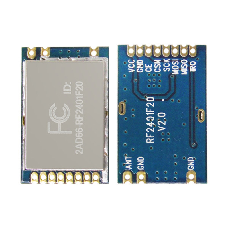 G-NiceRF RF2401F20 2.4G High Integrated RF Module With Nordic's RF Chip nRF24L01 2.4ghz rf transmitter and receiver module