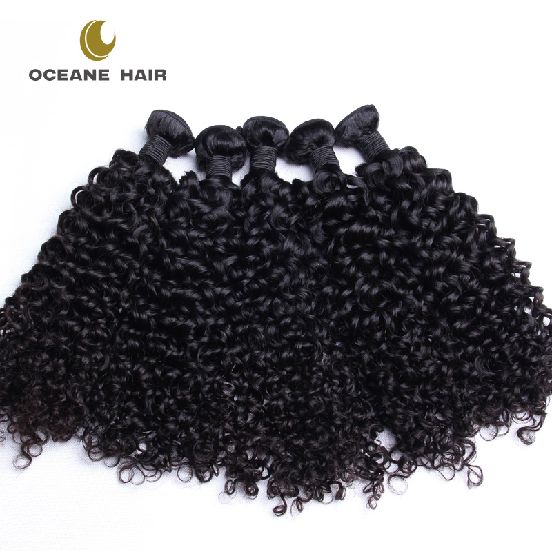 Factory Wholesale Virgin french curl weave brazilian human hair natural balck full health end sew in weavestyles pictures