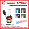 NSSC Best Quality No MOQ led headlight for Car truck Updated LED High Power Auto Car Headlamp H7 Car Led Headlight