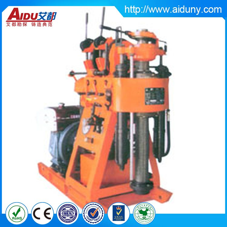 Best sellling manufacture water well drilling rig on base