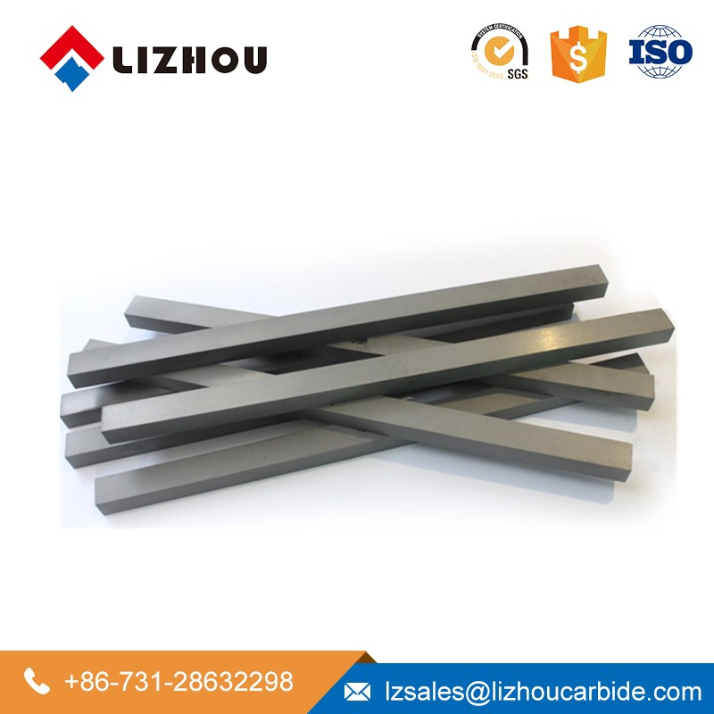 YG6 YG8 STB Tungsten Cemented Carbide Strips for Metal Wood Cutting