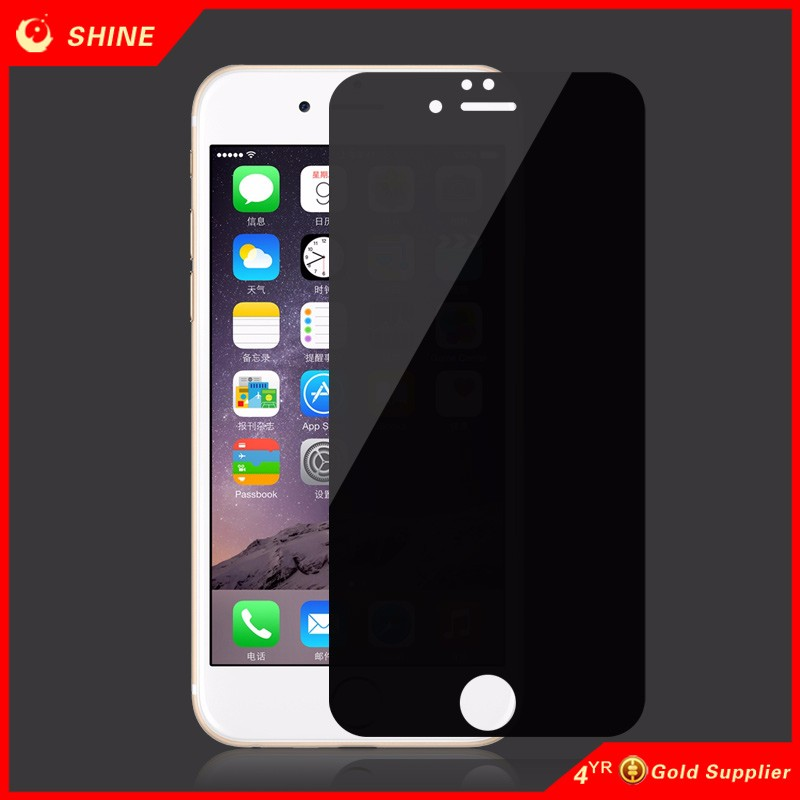 anti spy tempered glass screen protector For iphone 7/7plus  screen protector anti spy