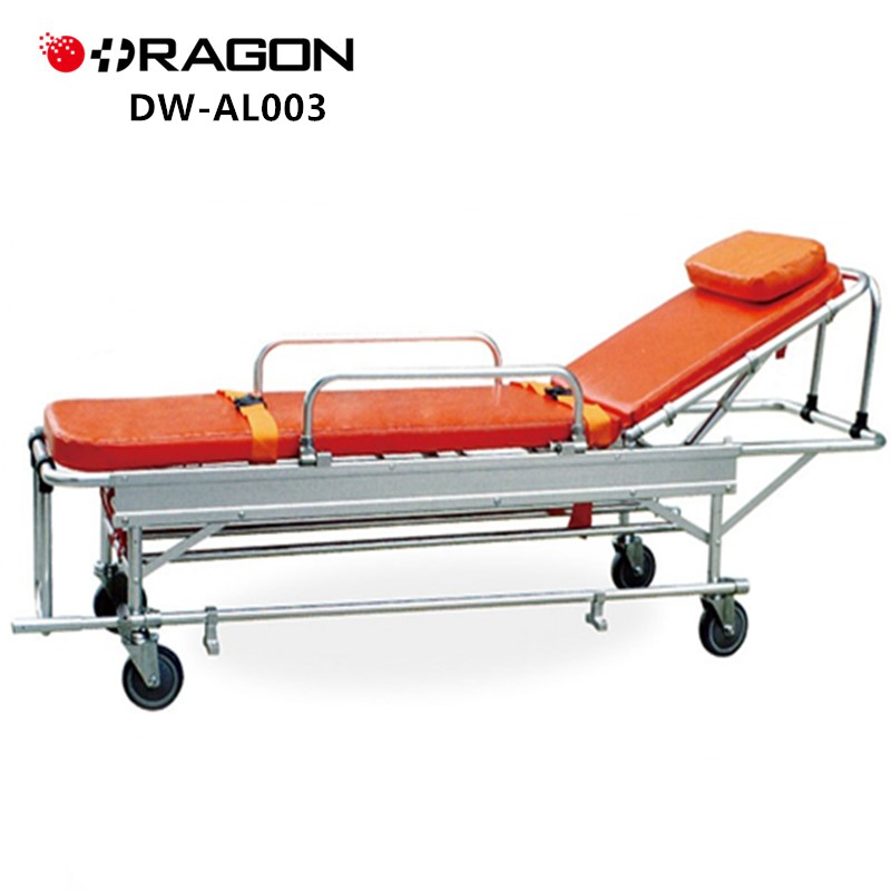 Dw-al003 Hospital Patient Transfer Used Ambulance Stretcher - Buy Used  Ambulance Stretcher,Ambulance Stretcher Sizes,Ambulance Stretcher For Sale
