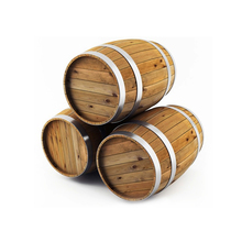 Custom 5L/10L Whiskey Beer Wine Oak/Pine Wooden Barrel