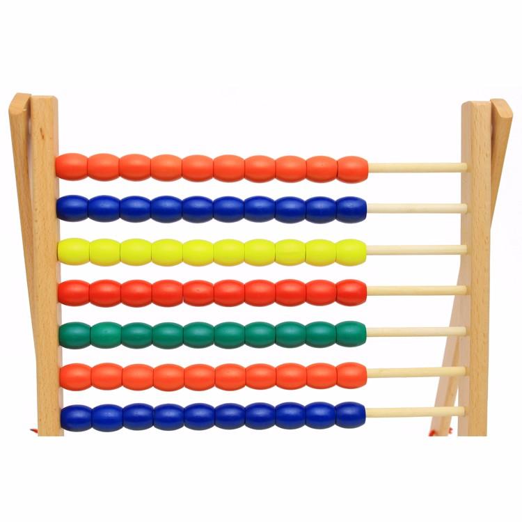 Melhor equipamento de Crianças brinquedos educativos brinquedos de madeira de aprendizagem de matemática montessori ensino Ábaco