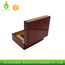 Factory price Custom piano finish wood watch box,wholesale high quality watch packing box