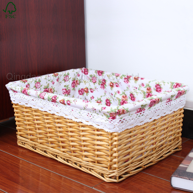 Factory directly sale Wicker/willow Clothe Baskets/hamper