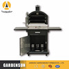 Outdoor Meeting smoker and gas grill with CE